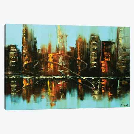 Emerald City Canvas Print #OTZ24} by Osnat Tzadok Canvas Print