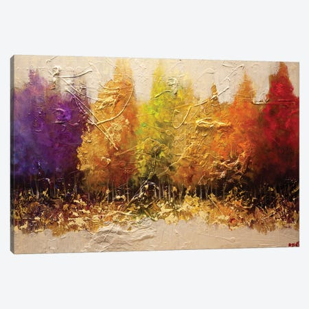 Five Seasons Canvas Print #OTZ25} by Osnat Tzadok Canvas Art Print