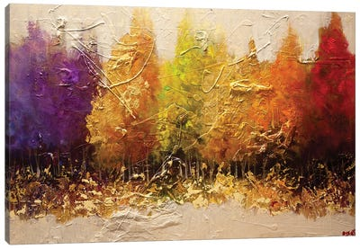 Five Seasons Canvas Art Print