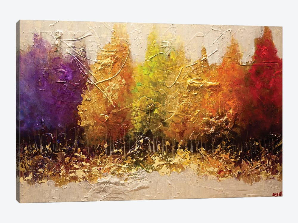 Five Seasons by Osnat Tzadok 1-piece Canvas Artwork