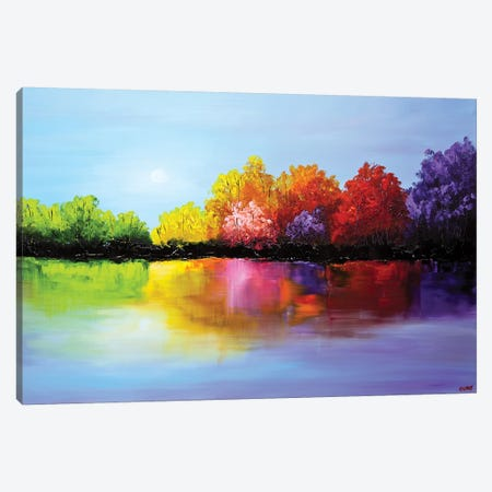 Heaven 3-Piece Canvas #OTZ28} by Osnat Tzadok Canvas Wall Art