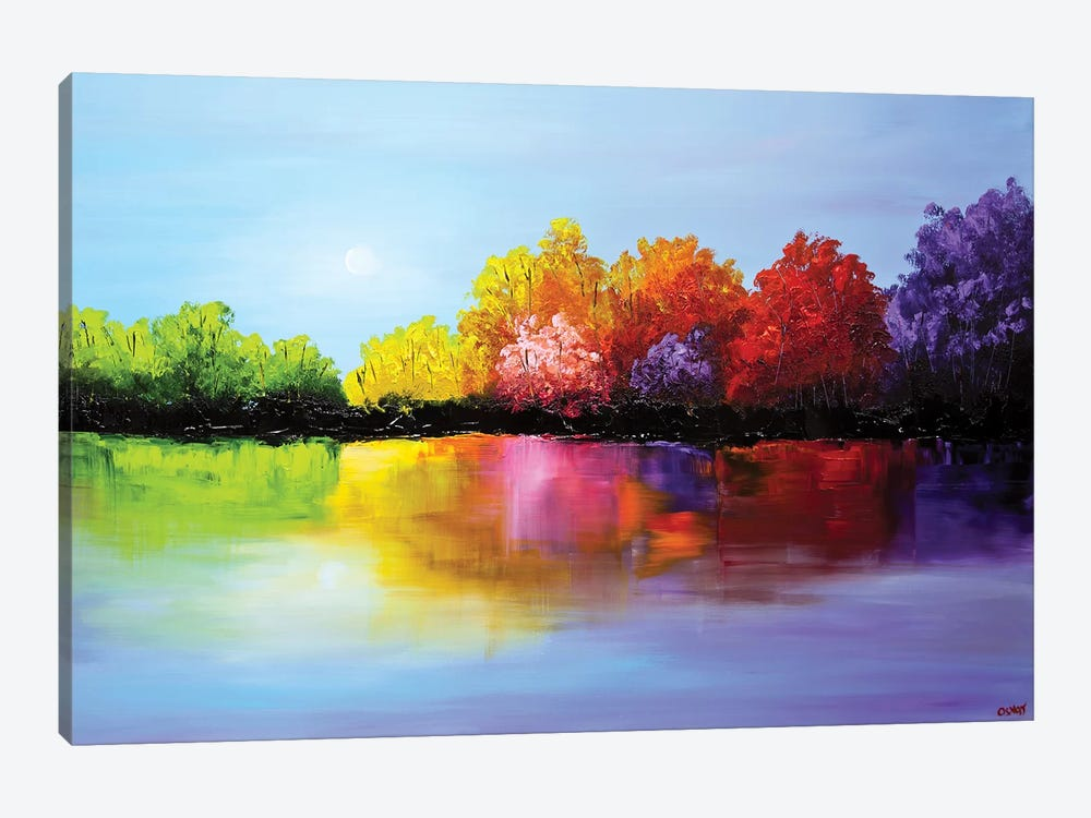 Heaven by Osnat Tzadok 1-piece Canvas Art Print
