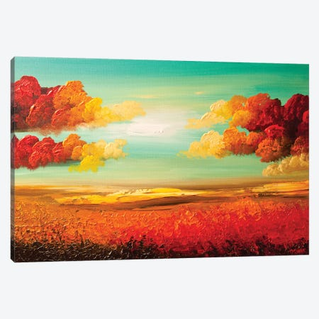 Heaven's Gate Canvas Print #OTZ29} by Osnat Tzadok Canvas Art