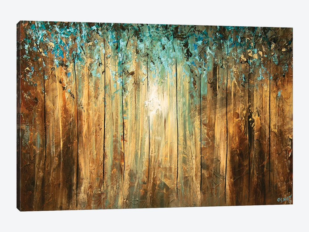 A Ray Of Light by Osnat Tzadok 1-piece Canvas Art