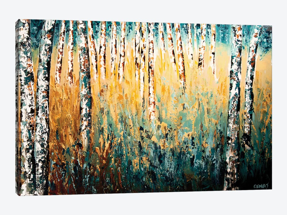 In The Wilderness by Osnat Tzadok 1-piece Canvas Art