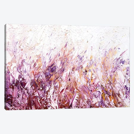 Lavender Scent Canvas Print #OTZ34} by Osnat Tzadok Canvas Art