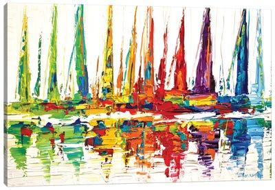 October Sail Canvas Art Print