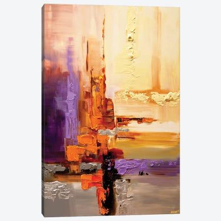 Orange Theory Canvas Print #OTZ40} by Osnat Tzadok Canvas Wall Art