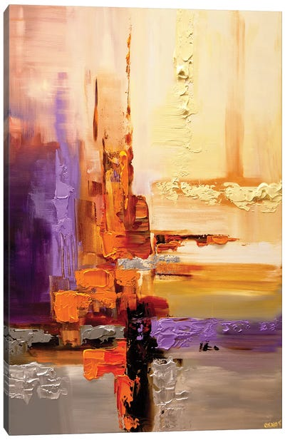 Orange Theory Canvas Art Print