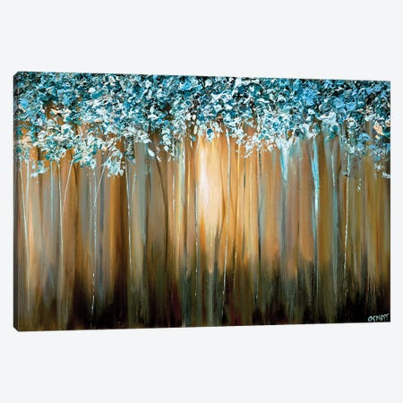 Paradise Canvas Print #OTZ41} by Osnat Tzadok Canvas Artwork