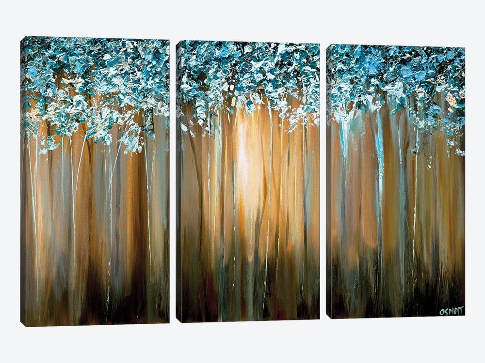 Paradise by Osnat Tzadok 3-piece Canvas Artwork
