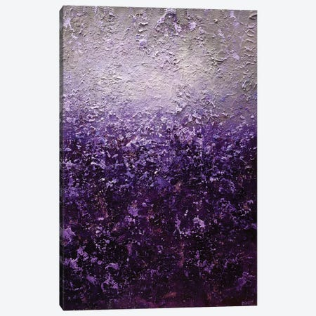 Purple Haze Canvas Print #OTZ44} by Osnat Tzadok Canvas Art Print