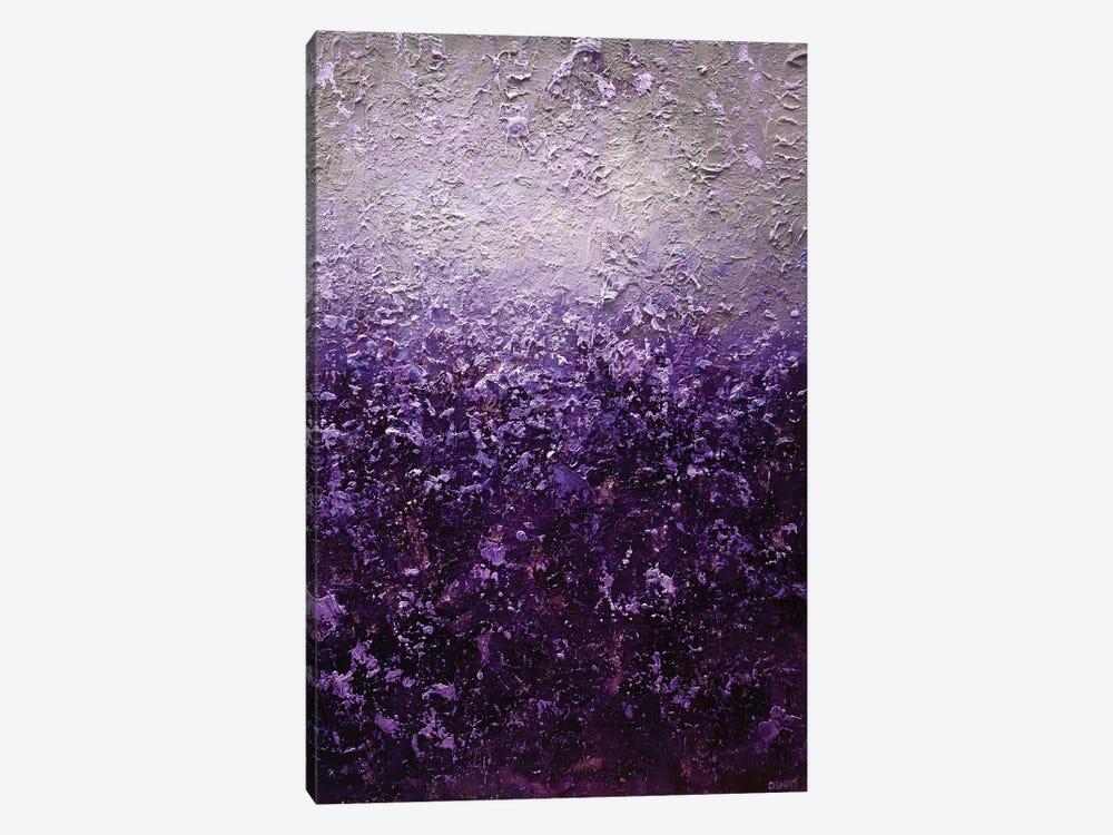 Purple Haze by Osnat Tzadok 1-piece Canvas Art Print