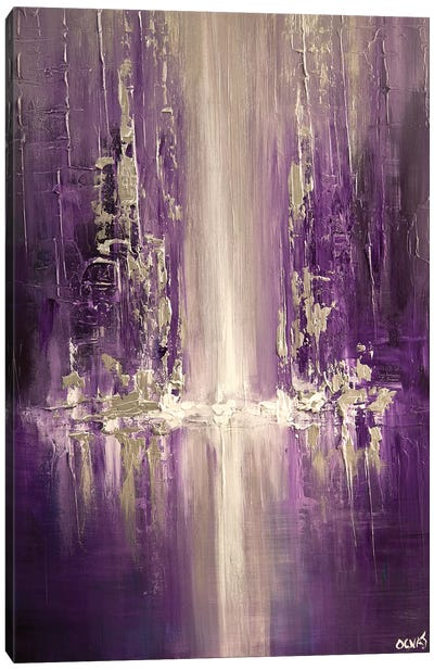 Purple Rain Canvas Art Print