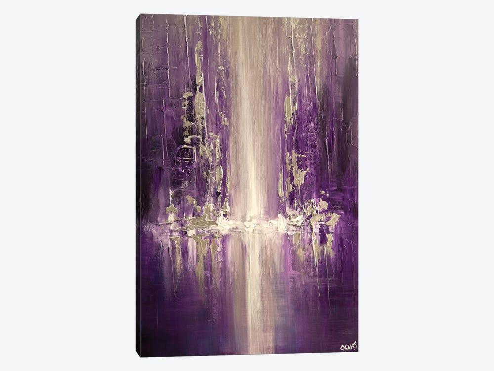 Purple Rain by Osnat Tzadok 1-piece Canvas Art