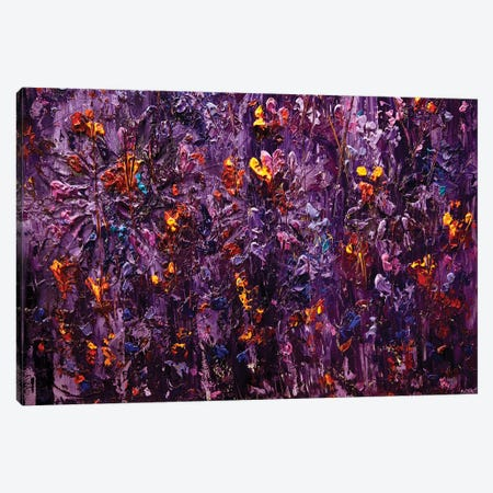 Purple Scent II Canvas Print #OTZ46} by Osnat Tzadok Art Print