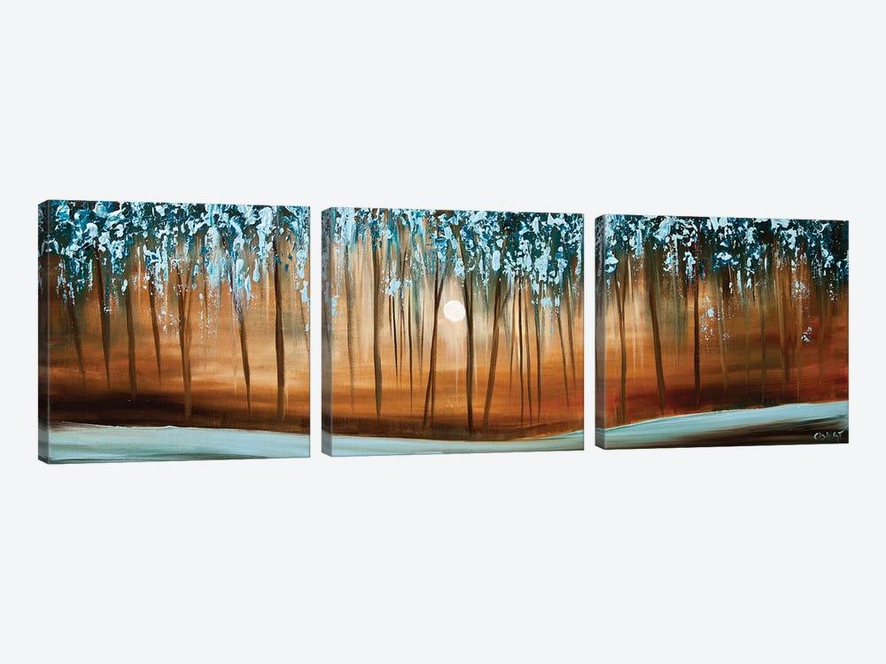Rainforest by Osnat Tzadok 3-piece Canvas Art Print