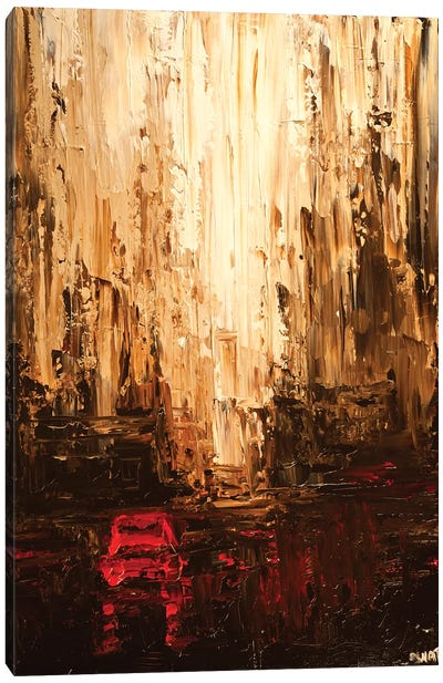 Red Cab Canvas Art Print