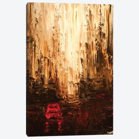 Red Cab Canvas Print #OTZ50} by Osnat Tzadok Canvas Print