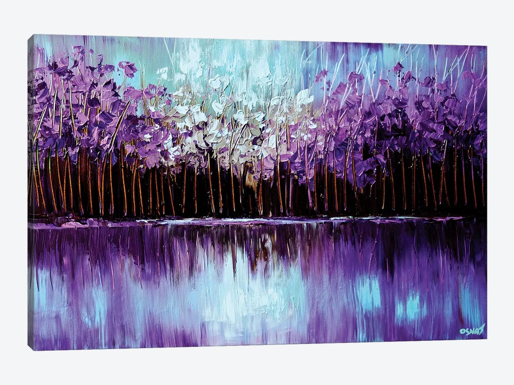 Reflection by Osnat Tzadok 1-piece Canvas Wall Art
