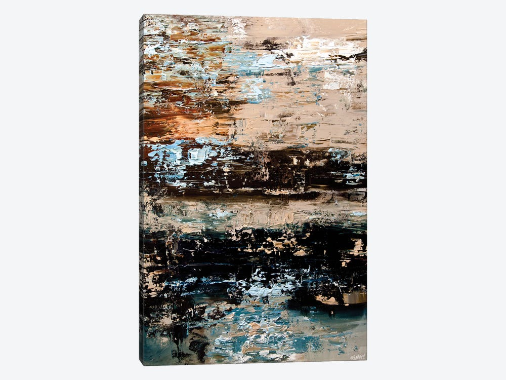 Rust I by Osnat Tzadok 1-piece Canvas Wall Art