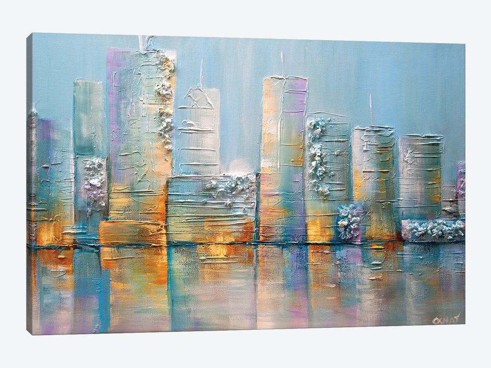 Salt City by Osnat Tzadok 1-piece Canvas Art