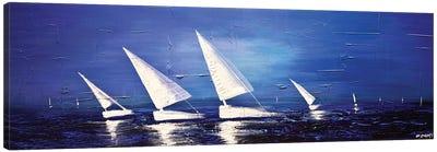 Sea Diamonds Canvas Art Print