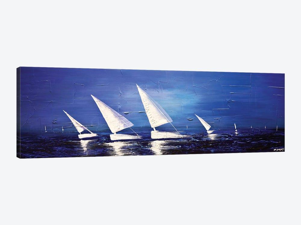 Sea Diamonds by Osnat Tzadok 1-piece Canvas Art Print