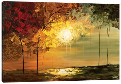 September Canvas Art Print