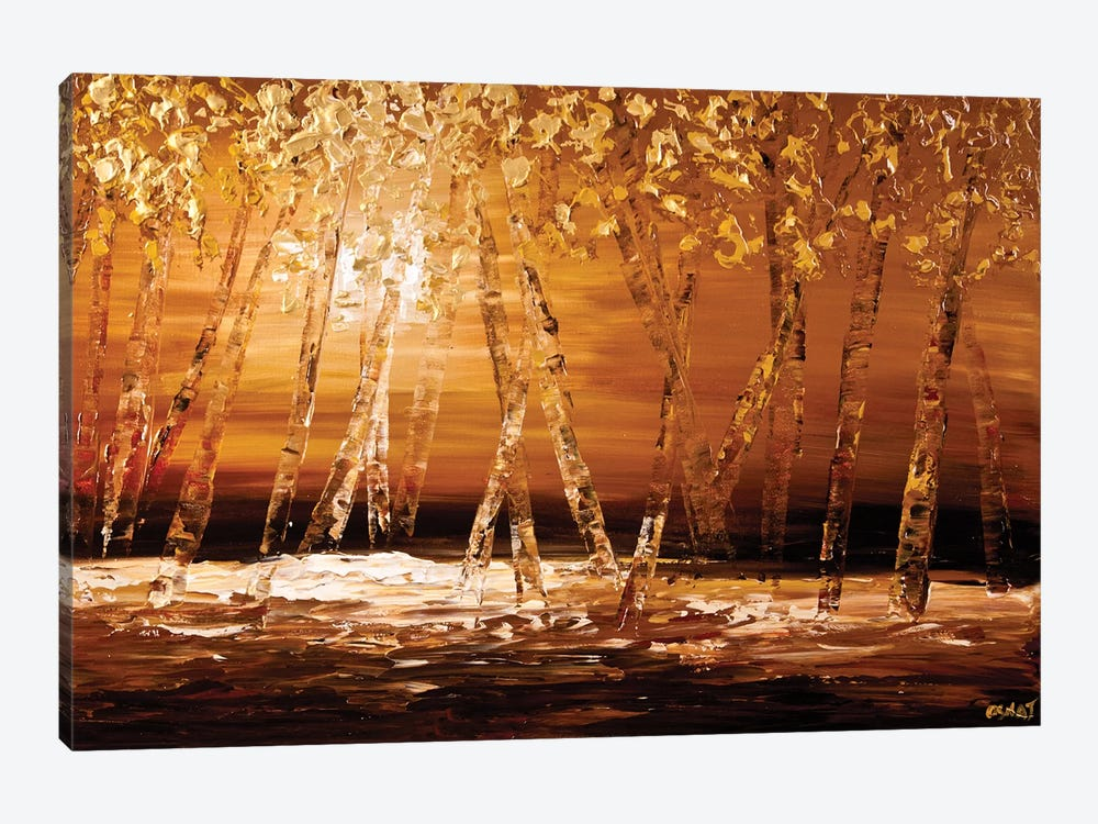 Autumn by Osnat Tzadok 1-piece Canvas Art Print