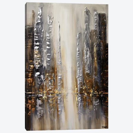 Silver City Canvas Print #OTZ60} by Osnat Tzadok Canvas Art