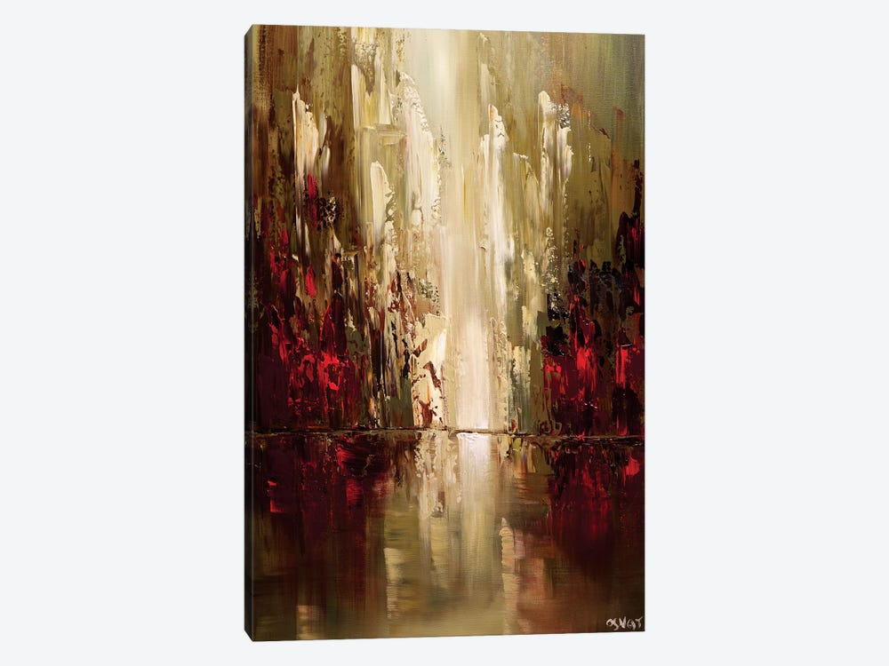 Skyscrapers by Osnat Tzadok 1-piece Canvas Wall Art