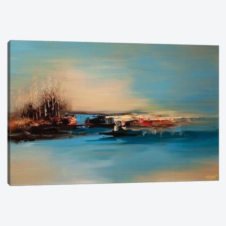 The Island I 3-Piece Canvas #OTZ79} by Osnat Tzadok Canvas Print