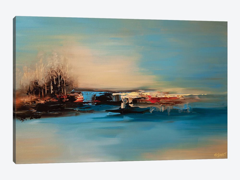 The Island I by Osnat Tzadok 1-piece Canvas Art Print