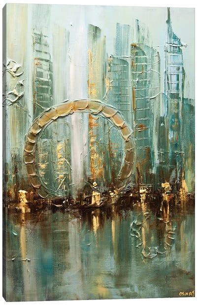 Babylon City Canvas Art Print
