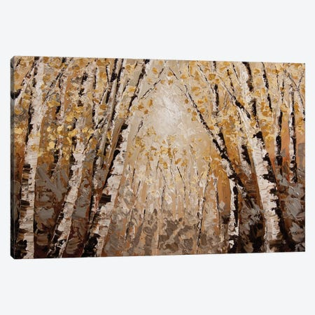 The Silver Forest Canvas Print #OTZ86} by Osnat Tzadok Canvas Art Print