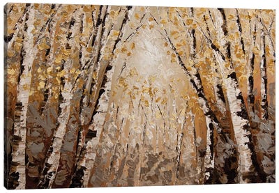 The Silver Forest Canvas Art Print