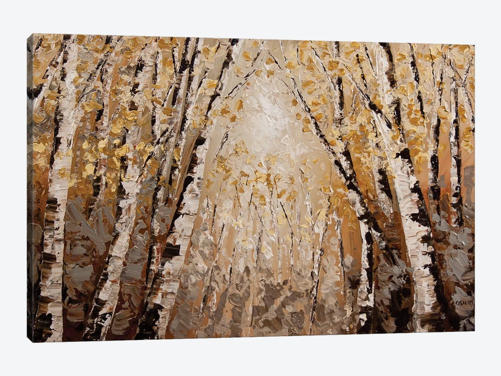 The Silver Forest by Osnat Tzadok 1-piece Canvas Art Print