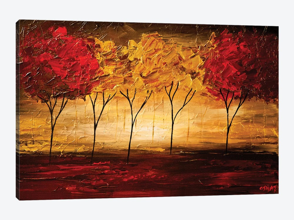 Together by Osnat Tzadok 1-piece Canvas Print
