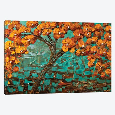 Tree Of Life 3-Piece Canvas #OTZ89} by Osnat Tzadok Canvas Art