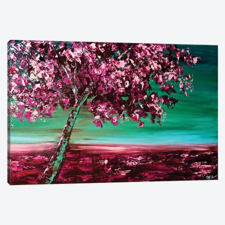 Under The Cherry Tree Canvas Print #OTZ90} by Osnat Tzadok Canvas Print