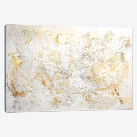 White Flex Canvas Print #OTZ94} by Osnat Tzadok Canvas Artwork