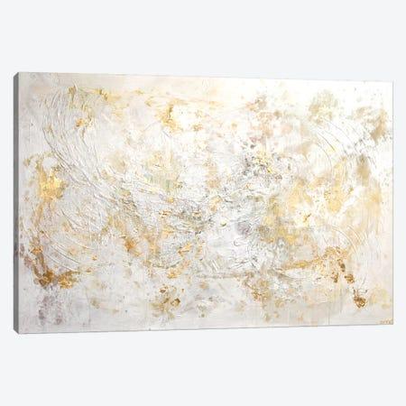 White Flex Canvas Print #OTZ94} by Osnat Tzadok Canvas Artwork