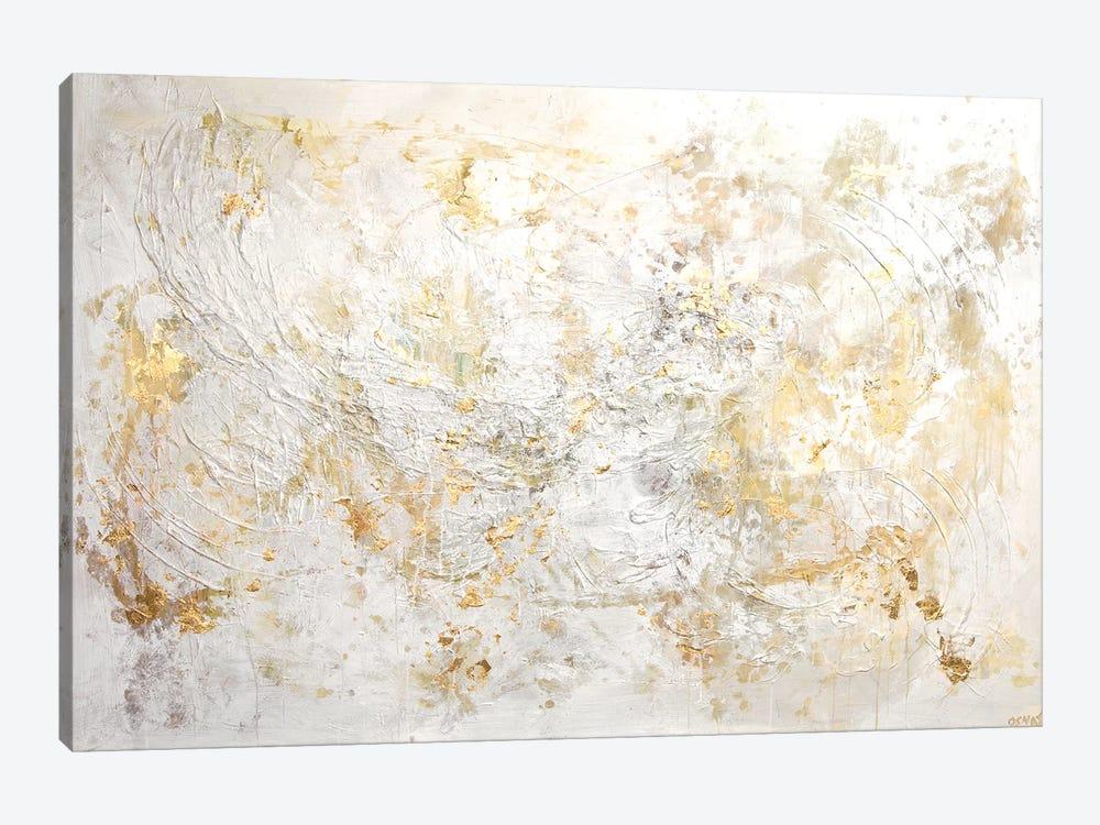 White Flex by Osnat Tzadok 1-piece Canvas Art