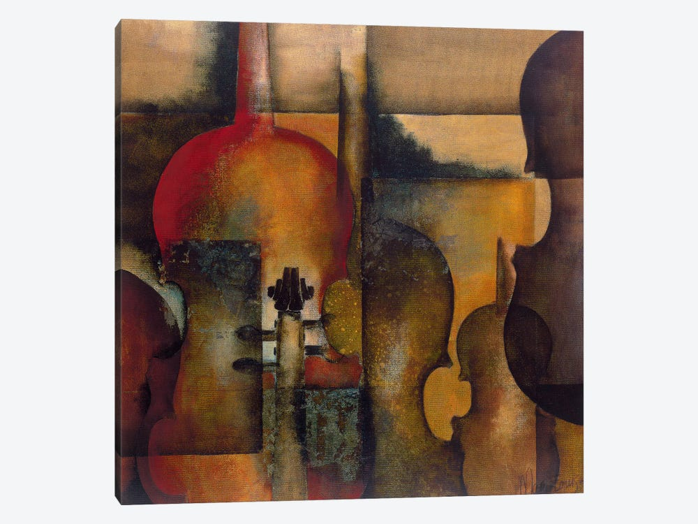Ode To Music I by Marie-Louise Oudkerk 1-piece Canvas Art