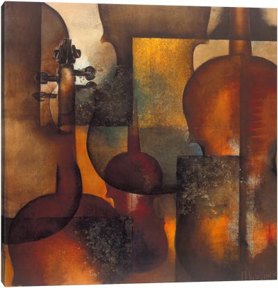 Ode To Music II Canvas Art Print