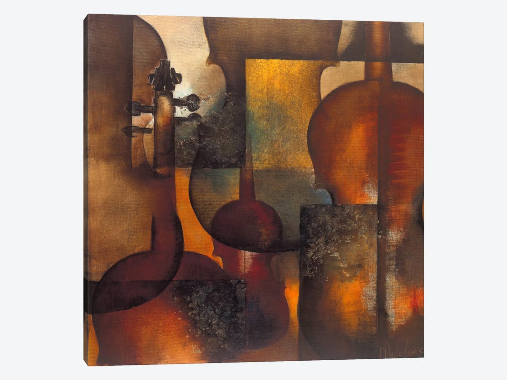 Ode To Music II by Marie-Louise Oudkerk 1-piece Canvas Print