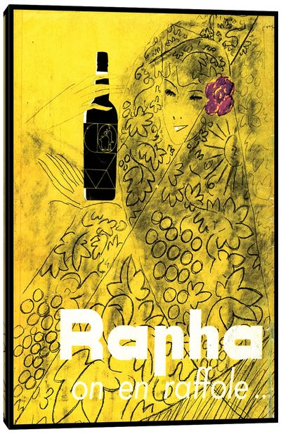 Rapha on en Raffole Canvas Art Print
