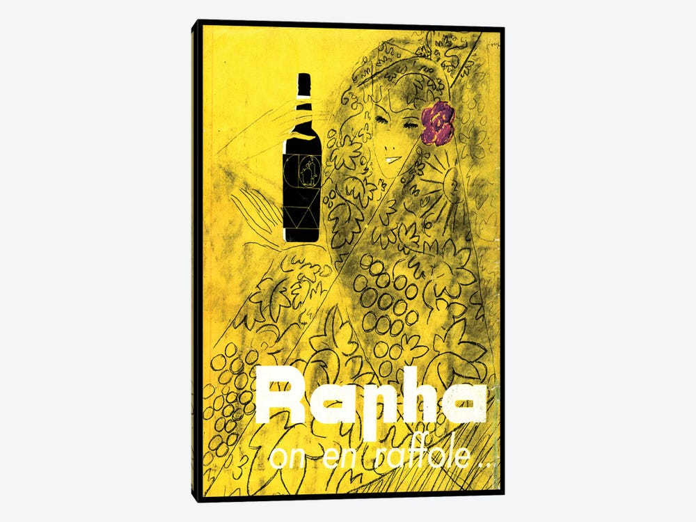 Rapha on en Raffole 1-piece Canvas Art