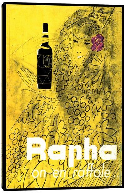 Rapha on en Raffole Canvas Art Print